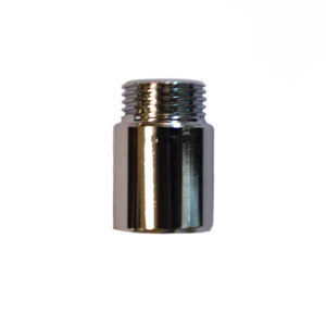 EXTENSION PIECE CHROME PLATED 15MM X 25MM