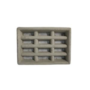 AIR VENT VERMIN PROOF CEMENT GREY