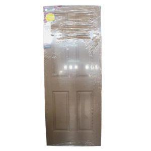 WOODEN FRONT DOOR 6-PANEL SHIELD