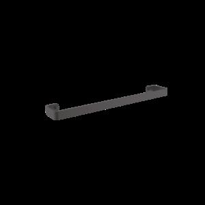 CASTAWAY ONYX SINGLE TOWEL RAIL 600MM