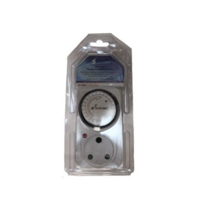 TIMER SWITCH PLUG-IN SURFACE MOUNT 24HR 220V 16A