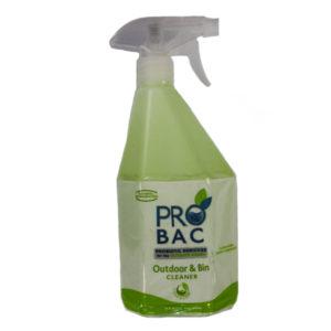 PRO BAC OUTDOOR & BIN CLEANER 750ML