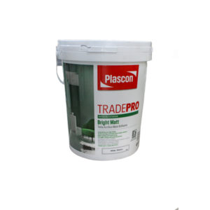 PLASCON TRADEPRO MATT WHITE 20LT